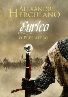 "Capa do livro ""Eurico, o Presbítero"" de Alexandre Herculano."