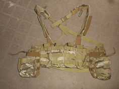 TAG Tactical Assault Gear Chest Rig. MULTICAM.