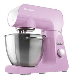 Sencor STM 48 RS stand mixer I'm the color of the delicate blooms of early spring that transform cherry trees into magnificent bouquets. The color brings to your kitchen tenderness, beauty and an embrace of delicacy and feeling. It's a little sentimental, but it soothes and warms. I have a heart of steel, I'm driven by a reliable 1000W motor, and your wish is my command.