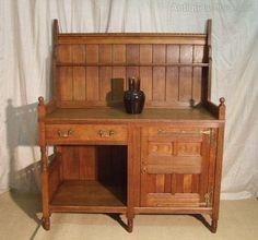 Arts & Crafts English Oak Dresser - Antiques Atlas