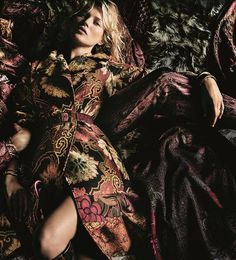Kate Moss by Mario Testino for Etro F/W 2015-16