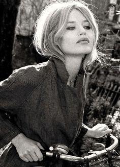 Le Fashion Blog Georgia May Jagger Channels Brigitte Bardot Vogue Italia 60s Hair Lips Cat Eyeliner