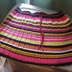 Mini skirt Mini skirt in multiple colors wuth waist tie in sweater material Missoni Skirts Mini