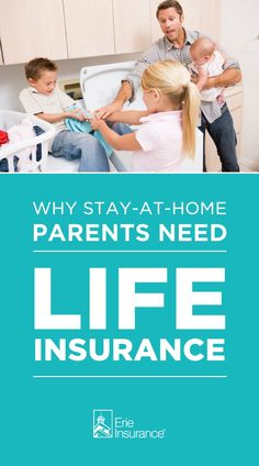 Stay-at-home parents wear a lot of hats. The reality is, if a stay-at-home parent should pass away, the surviving spouse will likely need to pay for more childcare, buy more prepared meals and hire more household help -- and that could be a big financial burden. While no life insurance policy can replace a parent, it can help provide peace of mind in a big way if the unthinkable should happen. Erie Insurance takes a look at the type of life insurance stay-at-home parents should consider.