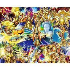 Cavaleiros de ouro #saintseiya #goldensaint #soulofgold