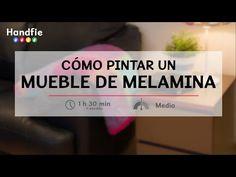 Cómo pintar un mueble de melamina | Handfie