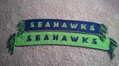 Seahawks Crochet Scarf Pattern!