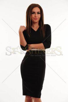 Rochie PrettyGirl Rare Waist Black