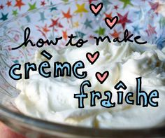 Learn how to make creme fraiche at home - on Craftsy!
