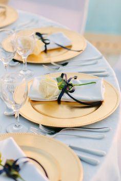 greek wedding gold charger greece