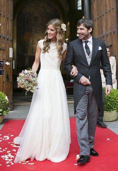 Vestidos novias estilo vintage | Paredero Quirós