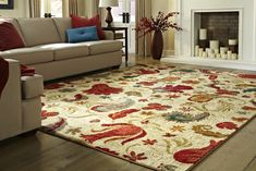 How to determine the perfect sized rug?