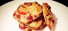 Jahodové sušenky s goji