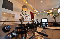 Coffee Commissary at Siren Studios by Tima Winter Inc. Design, Hollywood