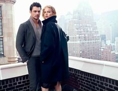 Carolyn Murphy & David Gandy for Massimo Dutti NYC by Hunter & Gatti