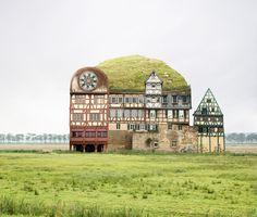 Matthias Jung   Collages arquitectónicos