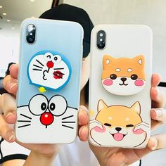 Mobile phone In Hand - - - Mobile phone Poster Products - Mobile phone Covers For Girls Kawaii Phone Case, Diy Phone Case, Cute Phone Cases, Iphone Cases, Case For Iphone, Handy Case, Dog Phone, Bff, Phone Hacks