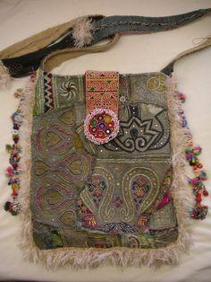 ➳➳➳☮American Hippie Bohemian Boho Feathers Gypsy Spirit Style - Bag