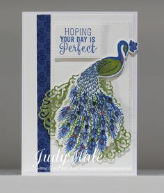 Stampin' Up! Hand Made Greeting Cards, Making Greeting Cards, Bee Cards, Stampin Up Catalog, Peacock Colors, Peacock Feathers, Butterfly Dragon, Monarch Butterfly, Stamping Up