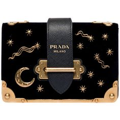 バッグ featuring polyvore, women's fashion, bags, handbags, clutches and prada