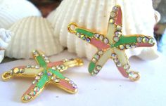 Starfish Nautical Bracelet charm by FlauntingCharms on Etsy, $1.75