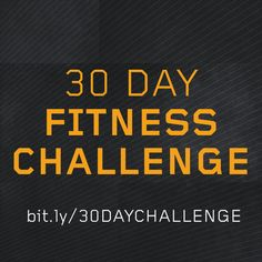 Looking for a 30 Day Fitness Challenge? --> http://tribesports.com/challenges/30-day-fitness-challenge