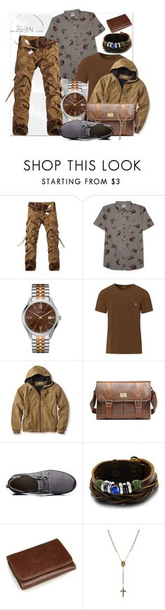 """""""Urban Summer"""" by prettyinjewels ❤ liked on Polyvore featuring Hybrid, Caravelle by Bulova, Ralph Lauren, L.L.Bean, 21 Men, men's fashion, menswear, stylish, summerstyle and urbanwear"""