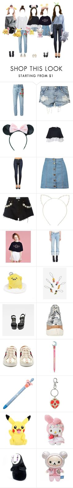 """Promise fansign in Seoul"" by promise-official ❤ liked on Polyvore featuring Gucci, OneTeaspoon, Adeam, Boohoo, Forte Couture, Cara, Lazy Oaf, Alexander McQueen, G-Star Raw and STELLA McCARTNEY"