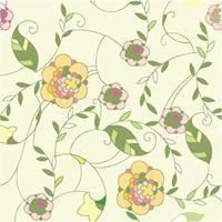 Papel de Parede Autocolante - Floral 511