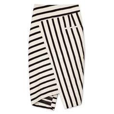 Altuzarra Arcadia Mixed-Stripe Skirt