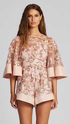 Fact Fiction Playsuit by Alice McCALL