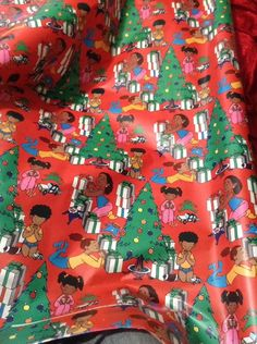 BlackBrown Girl Custom Wrapping Paper,African American Wrapping Paper,Gift Wrapping Paper 58x 23 Birthday,Holiday,Graduation 2 Rolls