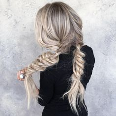 cool 80 Spectacular Hairstyles with Braids -Plaited Fashion-Forward Hairdos Check more at http://newaylook.com/best-hairstyles-with-braids/