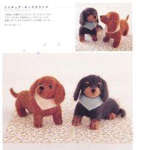 Needle Felt DIY Wool Felt Craft Japanese Book MY Mini DOG FOR Beginner   eBay