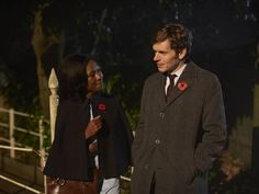 Shvrone Marks and Shaun Evans - Monica and Endeavour