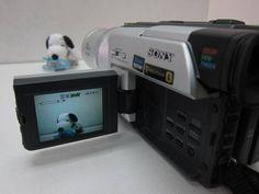 ソニー SONY DCR-TRV220 撮影確認