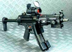 Heckler and Koch MP5A3 #gun #guns #rifle #m4 #ar15 #229 #rounds #clip #bolt #laser #scope #carbine #guns #gun #handguns #rifles #bullets #hunting #gunsandhunting