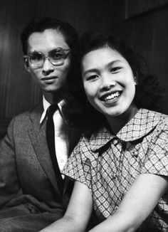 King Bhumipol and Queen Sirikit