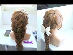 甜美艾莎公主髮型教學 Queen braid tutorial - YouTube