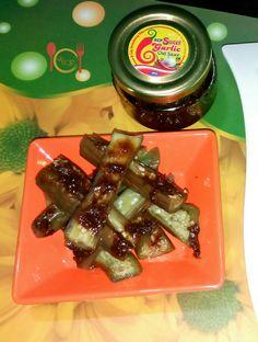 Eggplant with RCP Chili Garlic Sauce