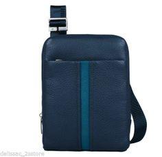 Borsello in pelle Piquadro Linea Vega con porta iPad mini Art. CA3084S67