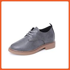 Women Shoes, Dirance Women Spring Fashion Low Heel Casual Single Shoes with Strap (36, Gray) - Flats for women (*Amazon Partner-Link)