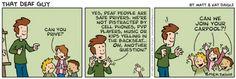 That Deaf Guy - comic