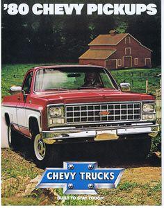 Chevrolet Trucks 1980s | Chevrolet Pickup Truck