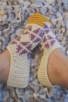 #crochet slippers pattern