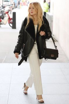 Zara Larsson out in London