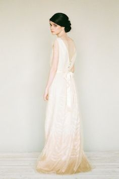 Couture wedding dress | Katerina Lobova Photography | see more on: http://burnettsboards.com/2014/05/ethereal-bridal-portraits/