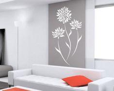 Tatuajes de flores para paredes pegatinas para por DecaIisland
