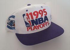 45f03b6c Vintage 1995 NBA Playoffs Charlotte Hornets Starter Snapback Hat VTG by  StreetwearAndVintage on Etsy Charlotte Hornets