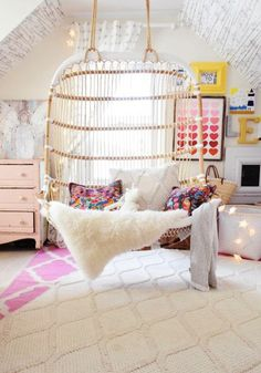 Cute idea for girl's room
